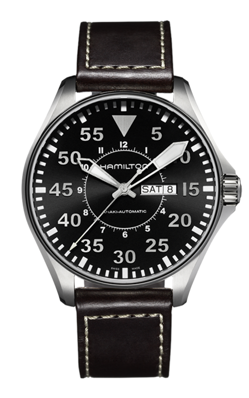 Hamilton Khaki Aviation Pilot Day Date Auto Watch H64715535  product image
