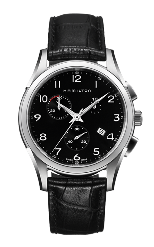 Hamilton Jazzmaster Thinline Chrono Quartz Watch H38612733 product image