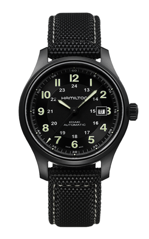 Hamilton Khaki Field Titanium Auto Watch H70575733 product image