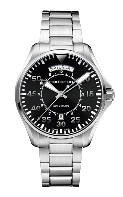 Hamilton Khaki Aviation Pilot Day Date Auto Watch H64615135 product image