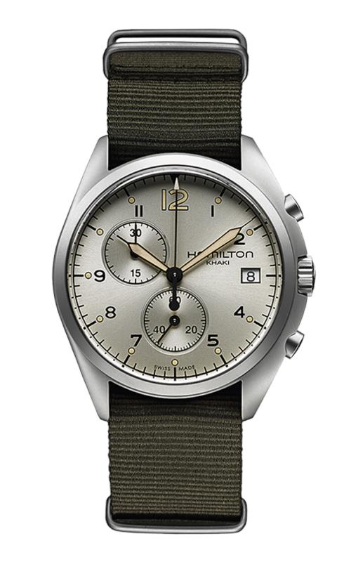 Hamilton Khaki Aviation Pilot Pioneer Chrono Quartz Watch H76552955 product image