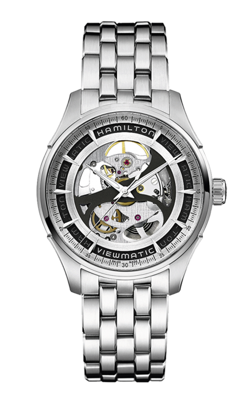 Hamilton Jazzmaster Viewmatic Skeleton Gent Auto Watch H42555151 product image