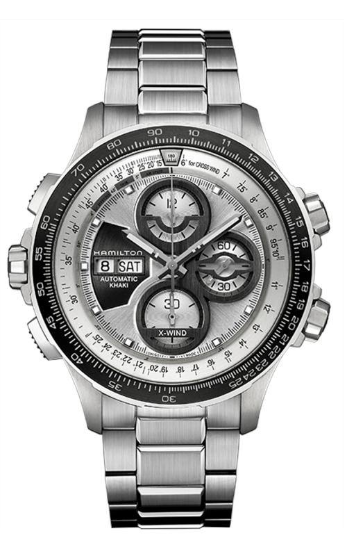 Hamilton Khaki Aviation X-Wind Auto Chrono LE Watch H77726151 product image