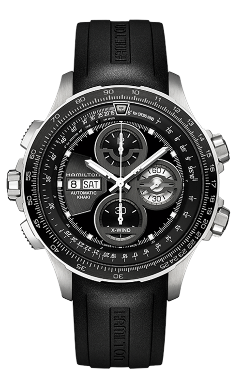 Hamilton Khaki Aviation X-Wind Auto Chrono LE Watch H77766331 product image