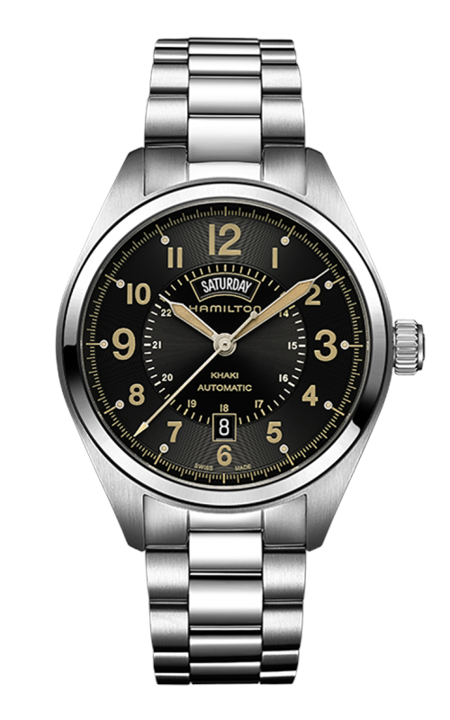 Hamilton Khaki Field Day Date Auto Watch H70505933 product image