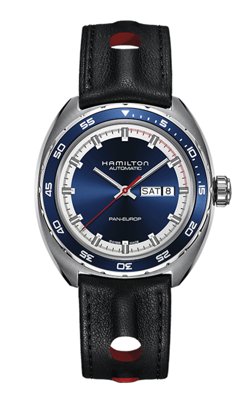 Hamilton American Classic Pan Europ Auto Watch H35405741 product image
