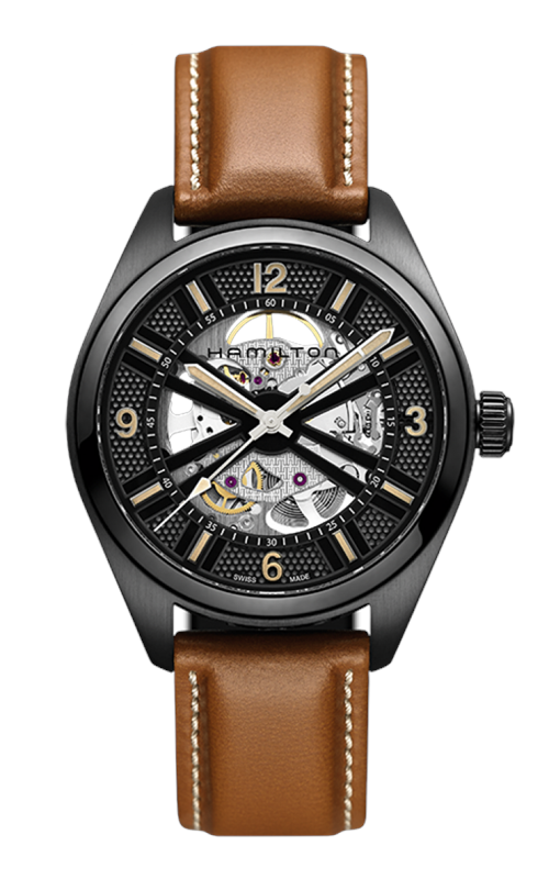 Hamilton Khaki Field Skeleton Auto Watch H72585535 product image