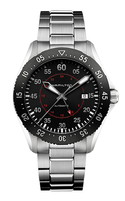 Hamilton Khaki Aviation Pilot GMT Auto Watch H76755135 product image