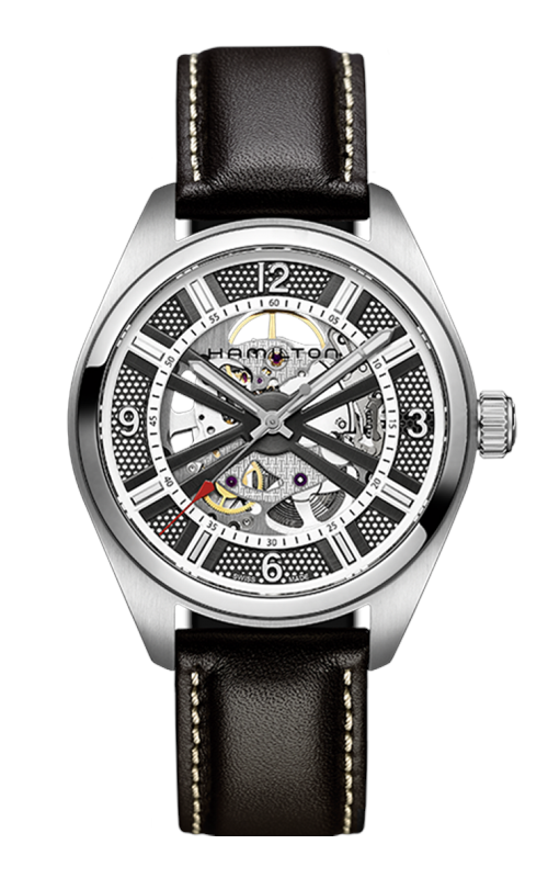 Hamilton Khaki Field Skeleton Auto Watch H72515585 product image