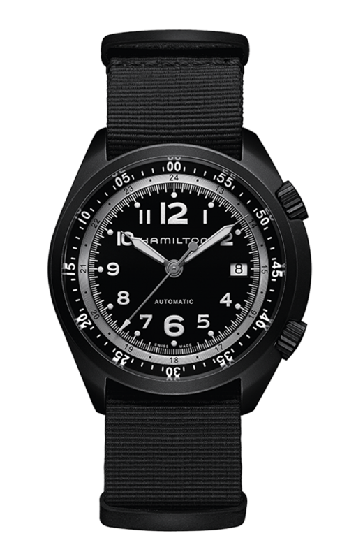 Hamilton Khaki Aviation Pilot Pioneer Aluminium Watch H80485835 product image