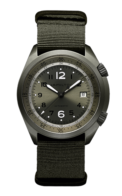 Hamilton Khaki Aviation Pilot Pioneer Aluminium Auto Watch H80405865 product image