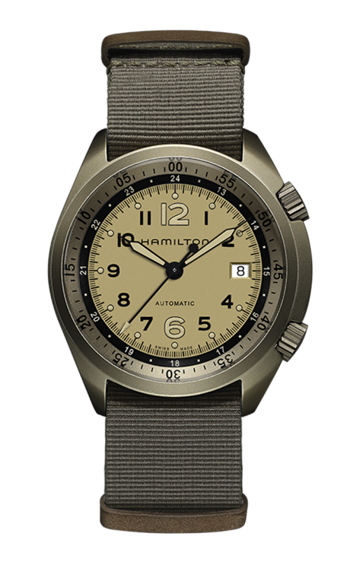 Hamilton Khaki Aviation Pilot Pioneer Aluminium Watch H80435895 product image