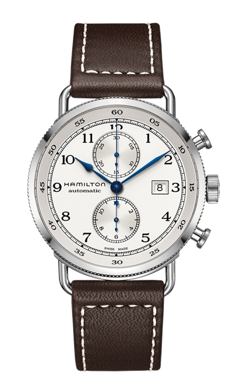 Hamilton Khaki Navy Pioneer Auto Chrono Watch H77706553 product image