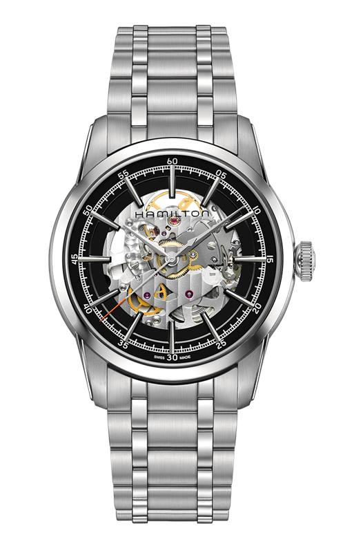Hamilton American Classic Railroad Skeleton Auto Watch H40655131 product image
