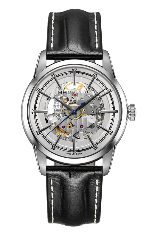 Hamilton American Classic Railroad Skeleton Auto Watch H40655751 product image