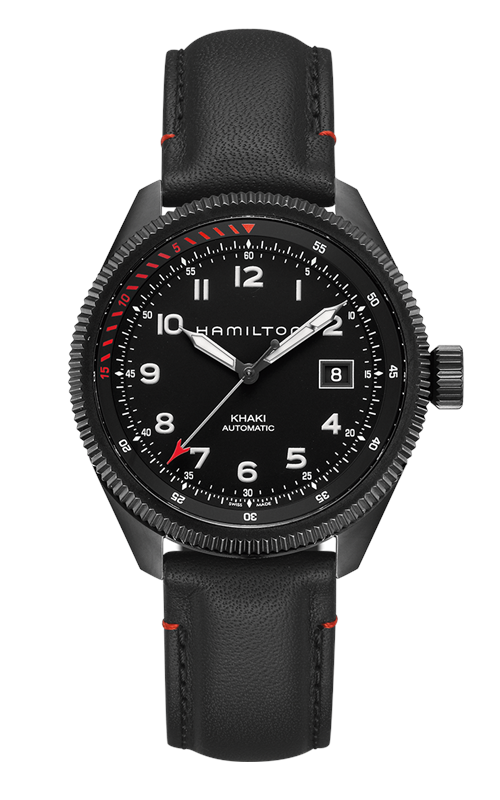 Hamilton Khaki Aviation Takeoff Auto Air Zermatt Watch H76695733 product image
