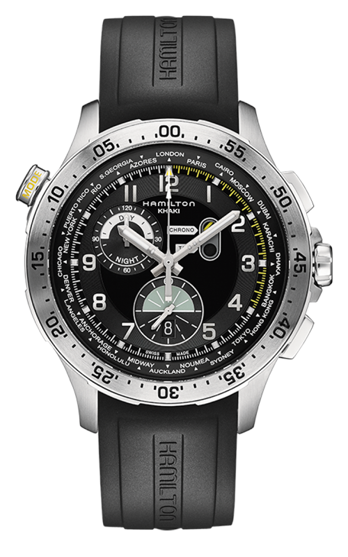 Hamilton Khaki Aviation Worldtimer Watch H76714335 product image