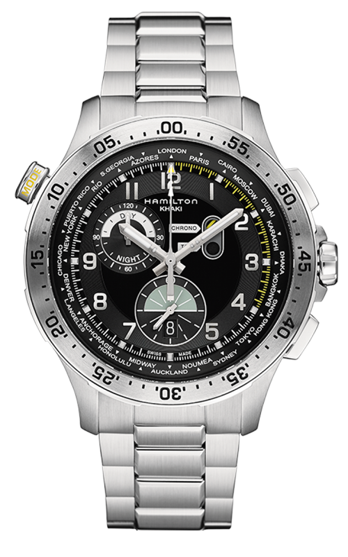 Hamilton Khaki Aviation Worldtimer Watch H76714135 product image