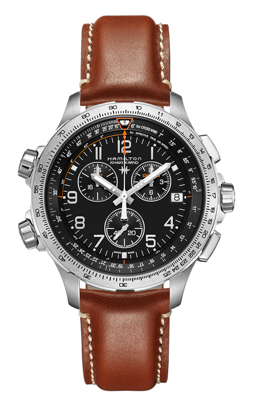 Hamilton X-Wind Chrono Quartz GMT Watch H77912535 product image