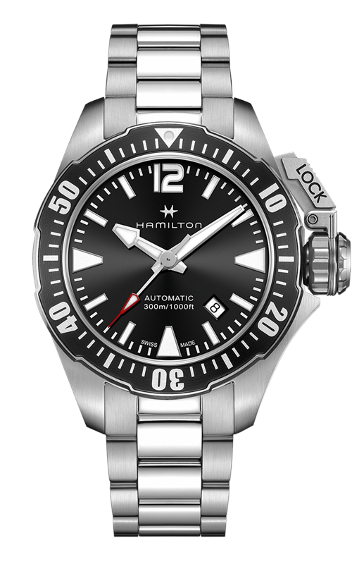 Hamilton Khaki Navy Frogman Auto Watch H77605135 product image