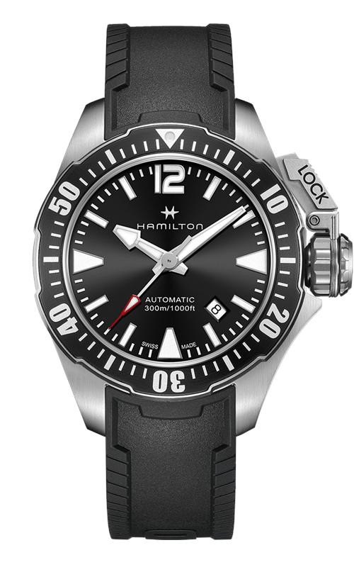 Hamilton Khaki Navy Frogman Auto Watch H77605335 product image