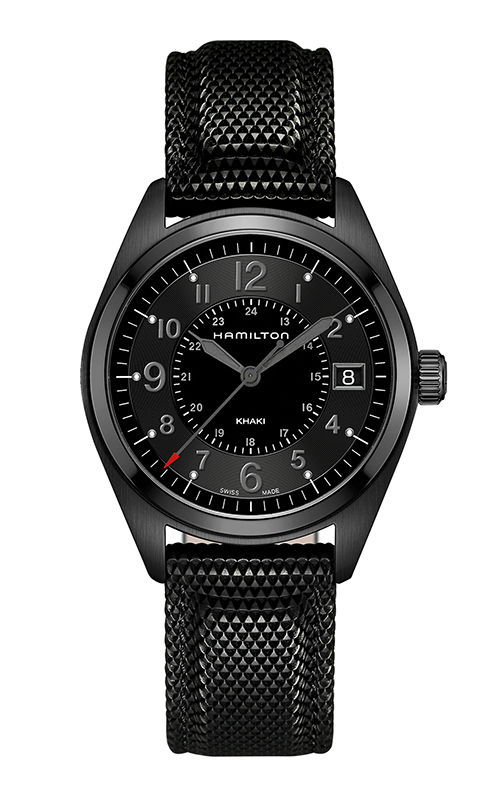 Hamilton Khaki Field Quartz Full Black Watch H68401735 product image