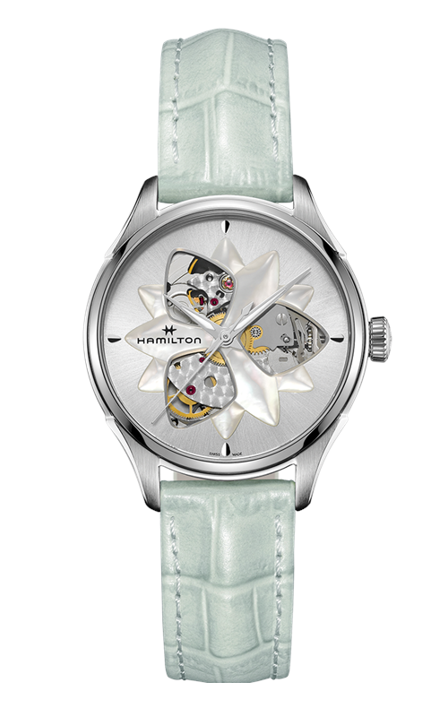 Hamilton Jazzmaster Open Heart Lady Watch H32115891 product image