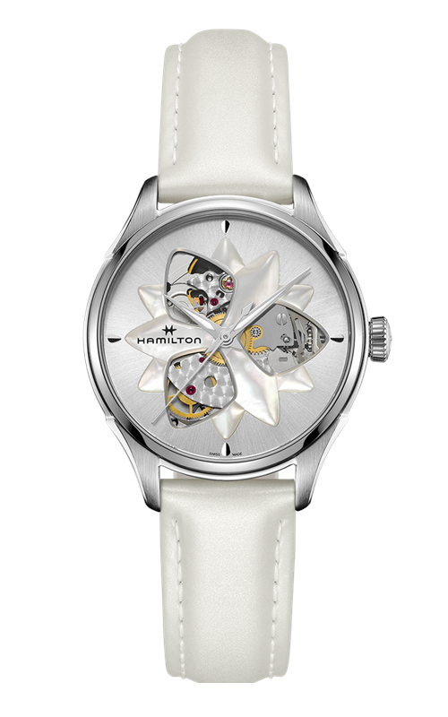 Hamilton Jazzmaster Open Heart Lady Watch H32115991 product image