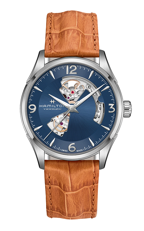 Hamilton Jazzmaster Open Heart Auto Watch H32705541 product image