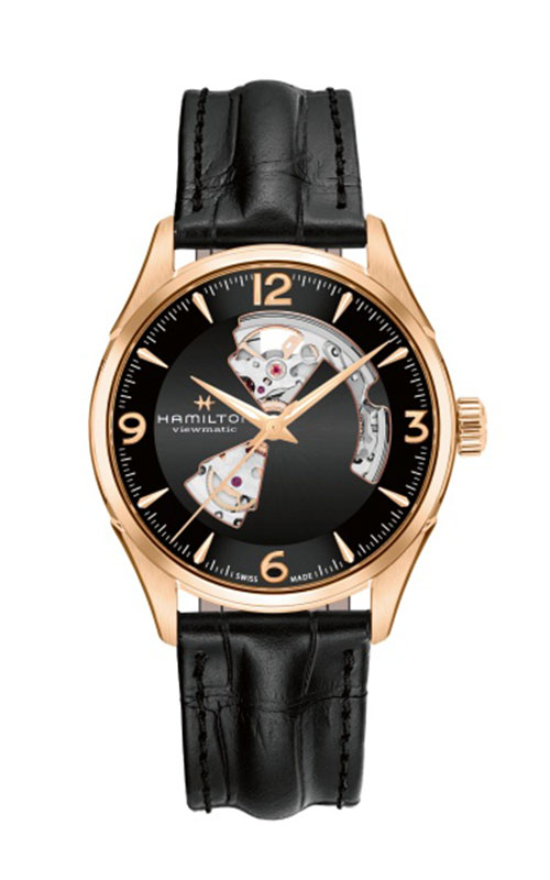 Hamilton Jazzmaster Open Heart Gent Watch H32735731 product image