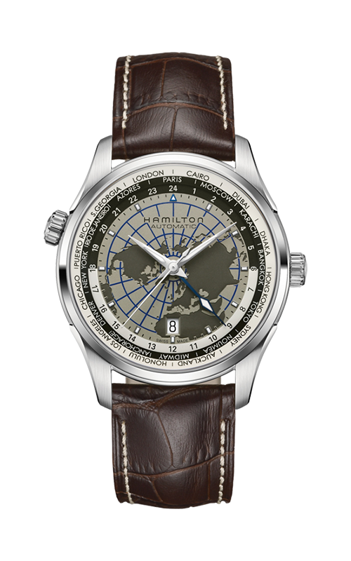 Hamilton Jazzmaster GMT Auto Watch H32605581 product image