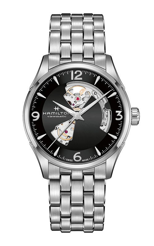 Hamilton Jazzmaster Open Heart Gent Watch H32705131 product image
