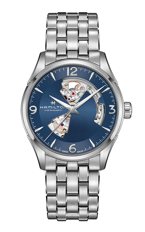 Hamilton Jazzmaster Open Heart Gent Watch H32705141 product image
