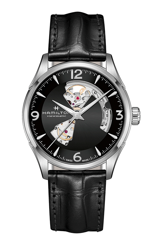Hamilton Jazzmaster Open Heart Gent Watch H32705731 product image