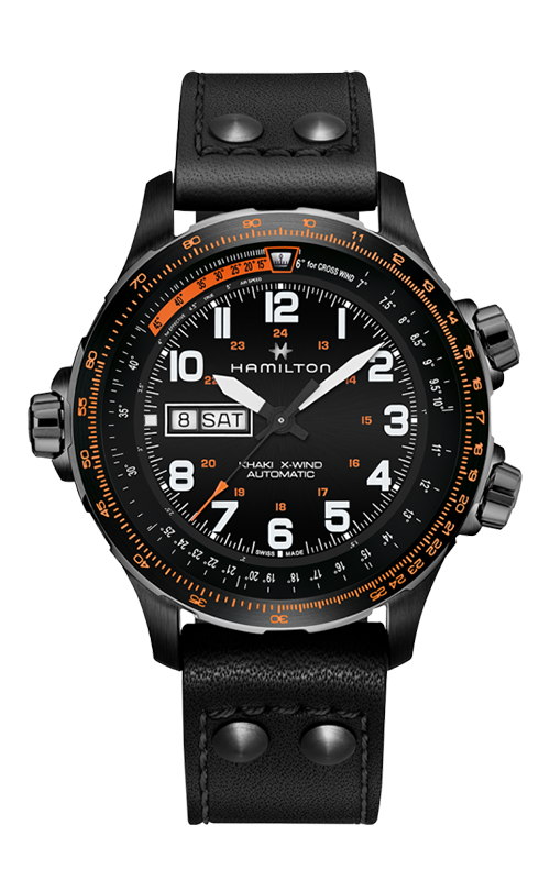 Hamilton Khaki X-Wind Day Date Watch H77785733 product image