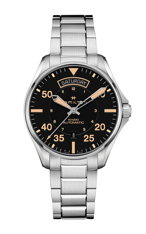 Hamilton Khaki Pilot Day Date Auto Watch H64645131 product image