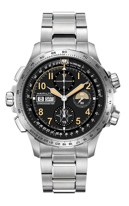 Khaki X-Wind Day Date Auto Chrono Watch H77796135 product image