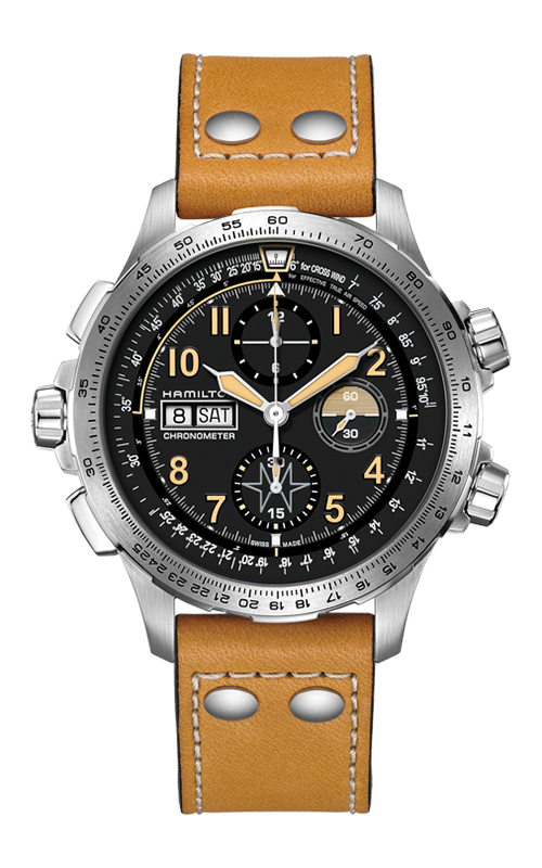 Khaki X-Wind Day Date Auto Chrono Limited Edition Watch H77796535 product image