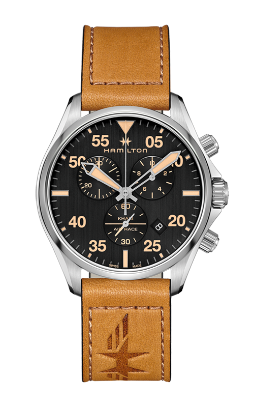 Hamilton Khaki Pilot Chrono Quartz Watch H76722531 product image