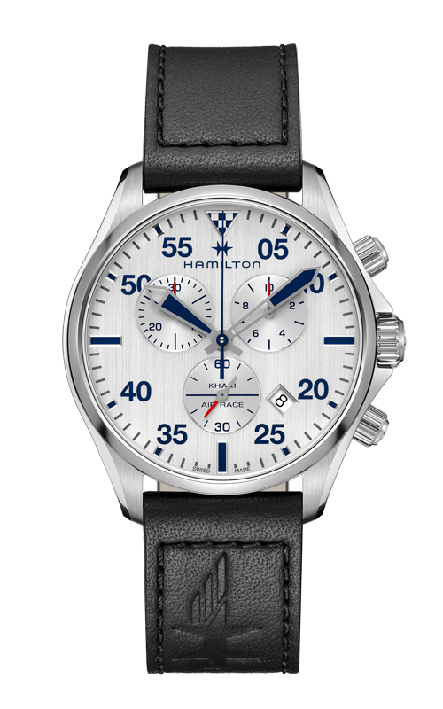 Hamilton Khaki Pilot Chrono Quartz Watch H76712751 product image