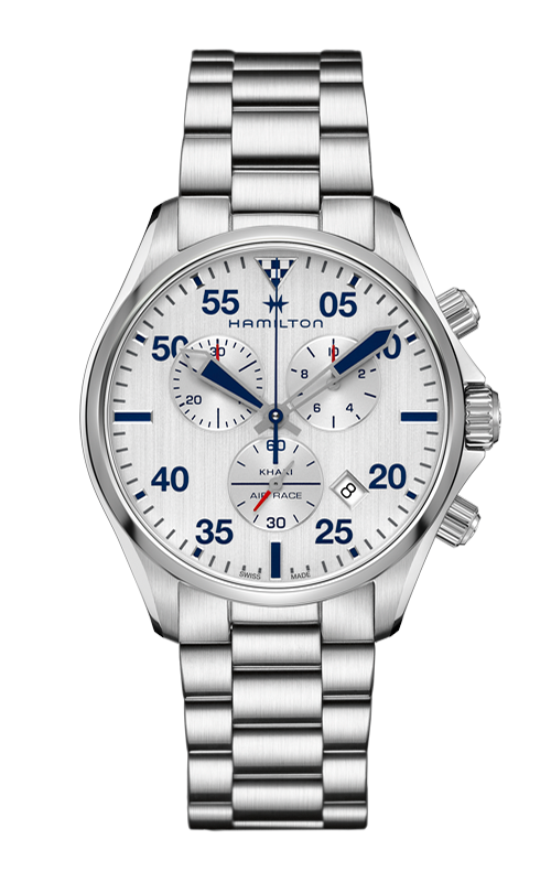 Hamilton Khaki Pilot Chrono Quartz Watch H76712151 product image