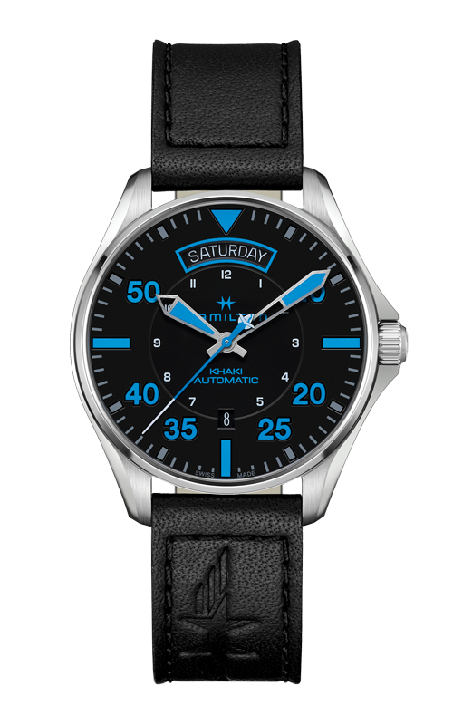 Hamilton Khaki Pilot Air Zermatt Day Date Auto Watch H64625731 product image