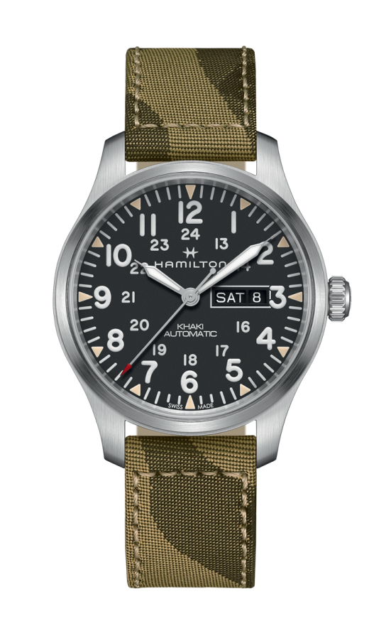 Hamilton Khaki Field Day Date Auto Watch H70535031 product image