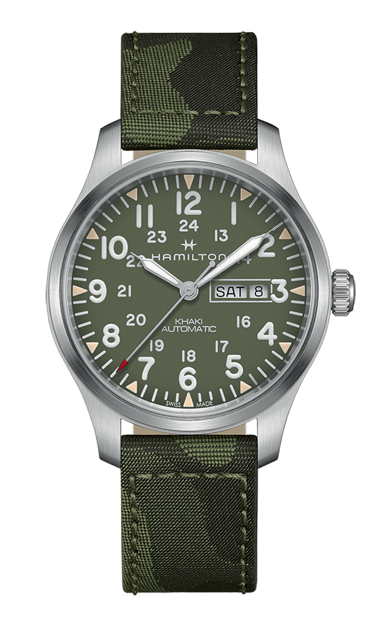 Hamilton Khaki Field Day Date Auto Watch H70535061 product image