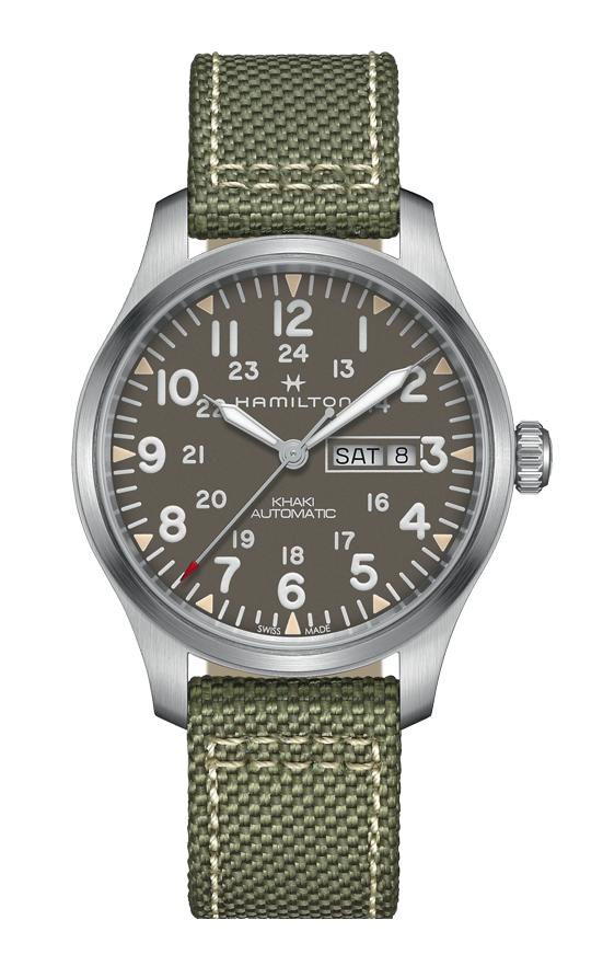 Hamilton Khaki Field Day Date Auto Watch H70535081 product image