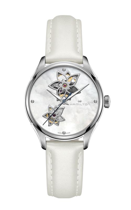 Hamilton Jazzmaster Open Heart Lady Auto Watch H32115892 product image