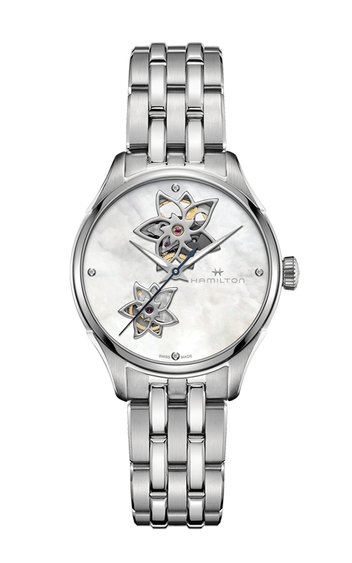 Hamilton Jazzmaster Open Heart Lady Auto Watch H32115192 product image