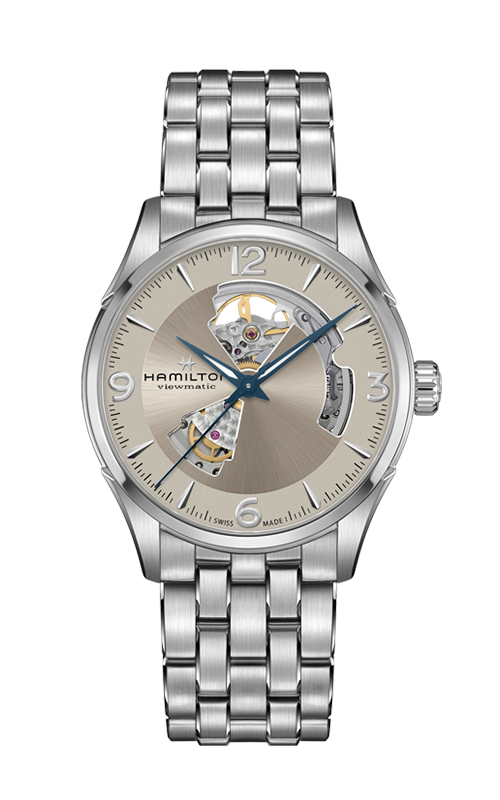 Hamilton Jazzmaster Open Heart Auto Watch H32705121 product image