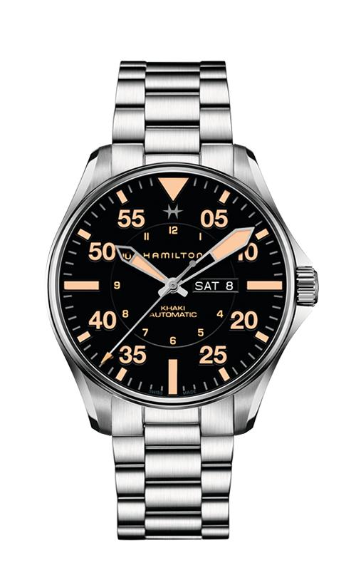 Hamilton Khaki Pilot Day Date Auto Watch H64725131 product image
