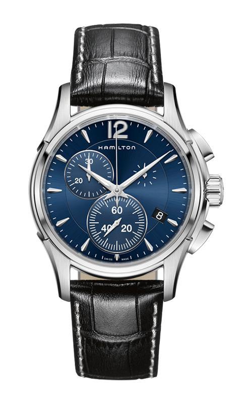 Hamilton Jazzmaster Chrono Quartz Watch H32612741 product image